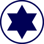 La cocarde israélienne.