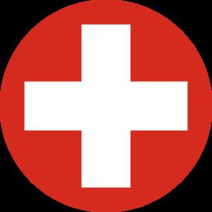 La cocarde suisse.