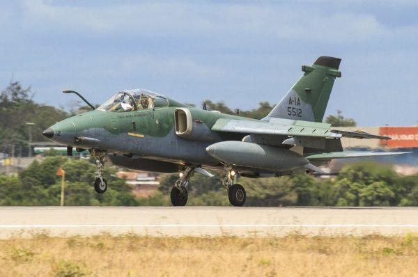 Embraer A-1A AMX.