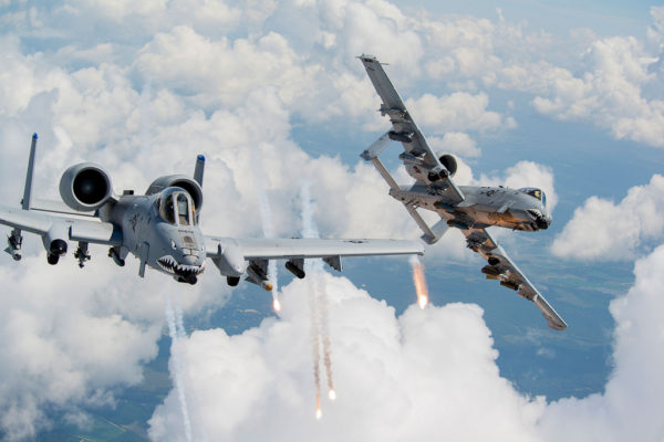Fairchild A-10C Thunderbolt II.