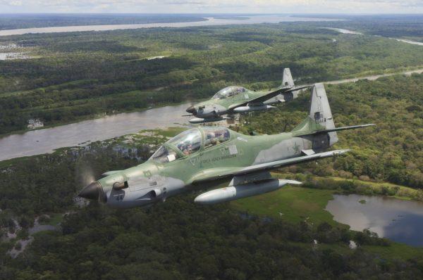 Embraer A-29 Super Tucano.