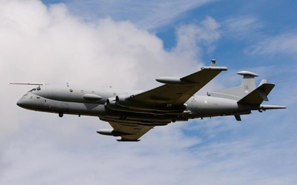 ACNY2K ZJ518 BAE Systems Nimrod MRA4 Maritime Reconnaissance and Attack Mk4 Aircraft at RAF Fairford
