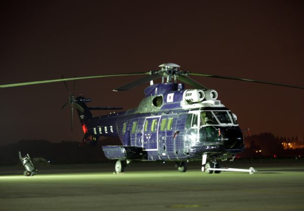 Eurocopter AS-332L Super Puma.