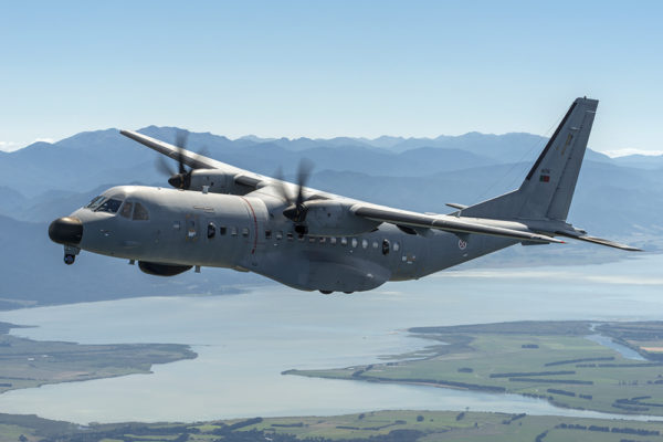 Airbus Defense & Space C-295MPA.