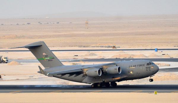 Boeing C-17A Gobemaster III.