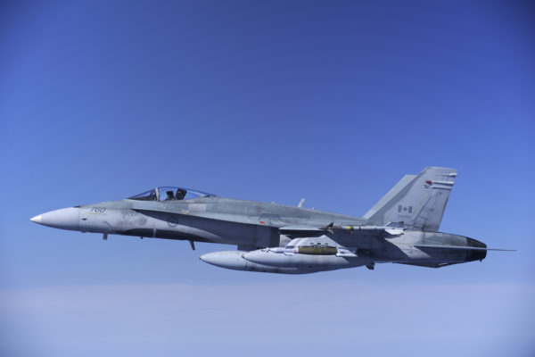 McDonnell Douglas CF-188 Hornet.