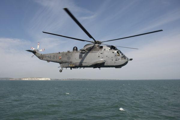 Sikorsky CH-124 Sea King.