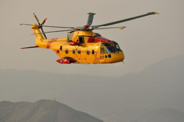 Agusta-Westland CH-149 Cormorant.
