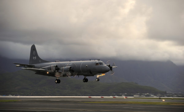 Lockheed CP-140 Aurora.