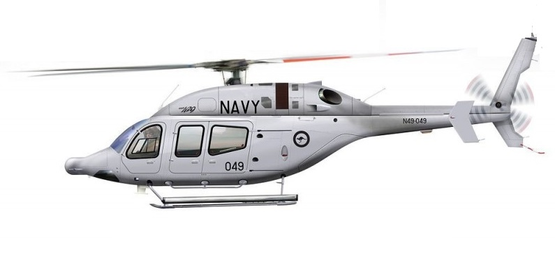 Profil couleur du Bell 429 Global Ranger