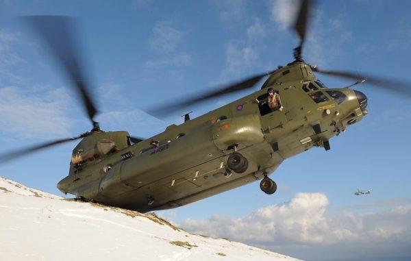Boeing-Vertol Chinook HC Mk-5.