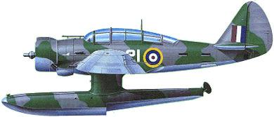 Profil couleur du Northrop N-3PB