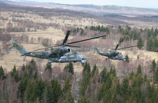 Mil Mi-24V.