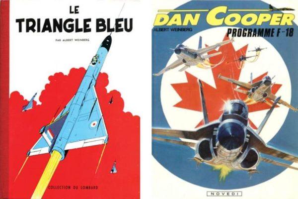Dan Cooper Triangle bleu