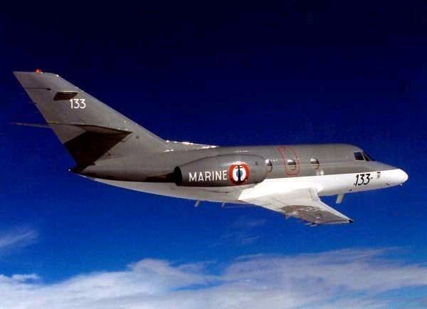 Dassault Falcon 10MER.