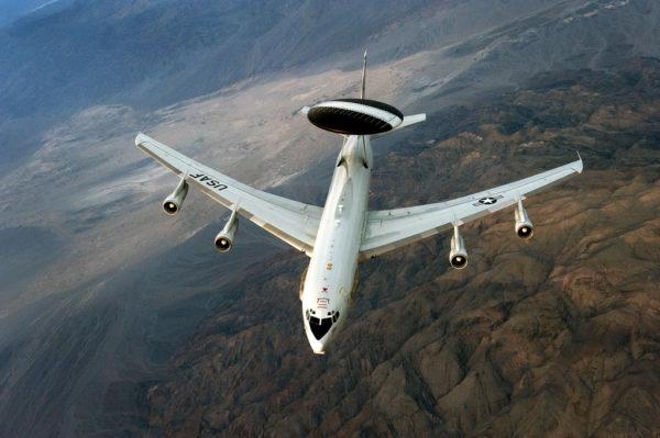Boeing E-3B Sentry.