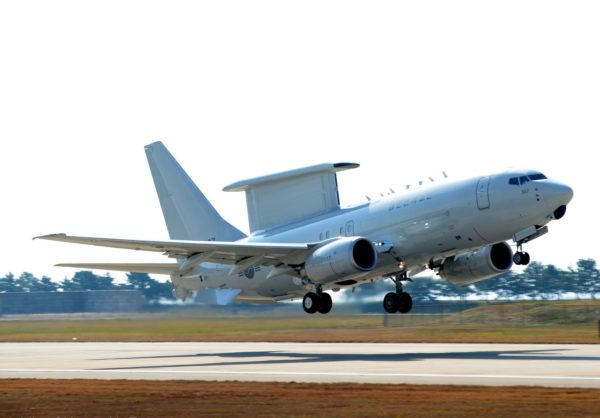 Boeing E-7A Wedgetail.