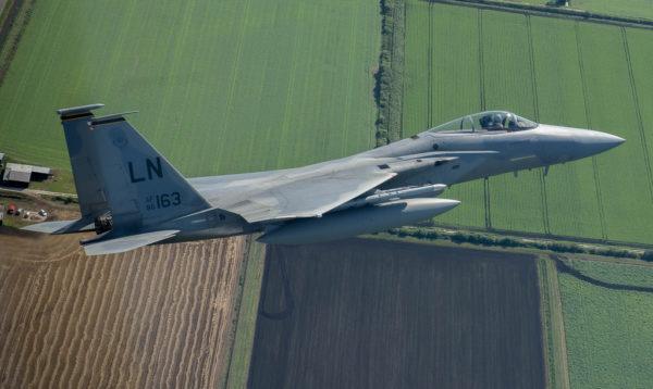 McDonnell Douglas F-15C Eagle.
