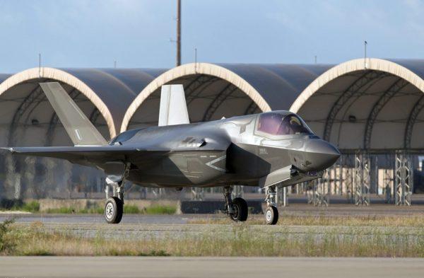 Lockheed-Martin F-35B.