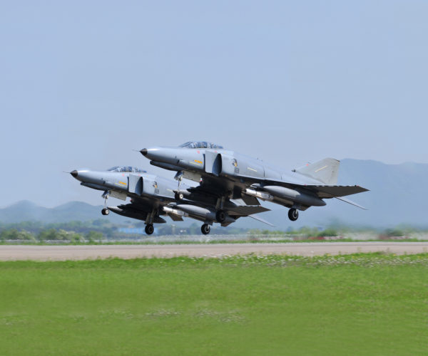 McDonnell Douglas F-4E Phantom II.