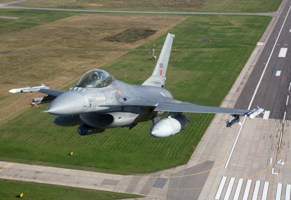 General Dynamics F-16A Fighting Falcon.