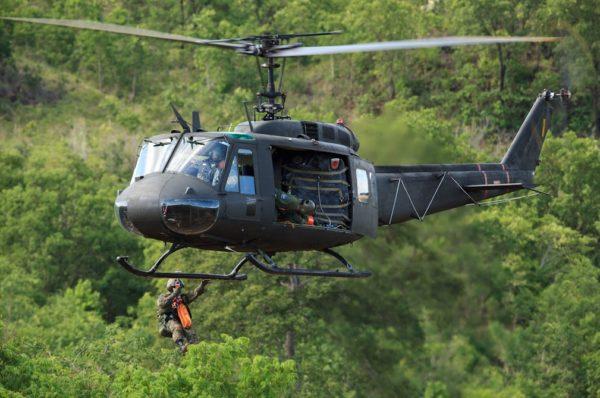 Bell UH-1H Huey.