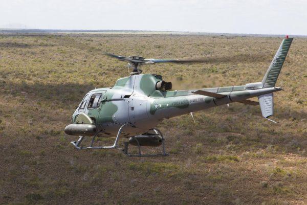 Helibras UH-50A Esquilo.
