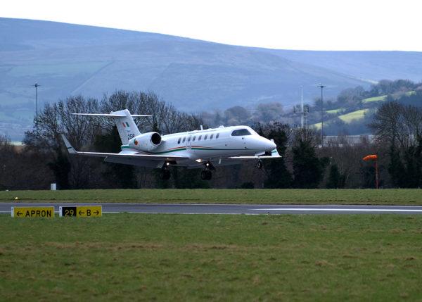 Bombardier Learjet 45A.