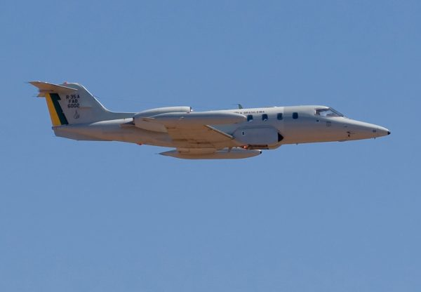 Bombardier R-35A Learjet.