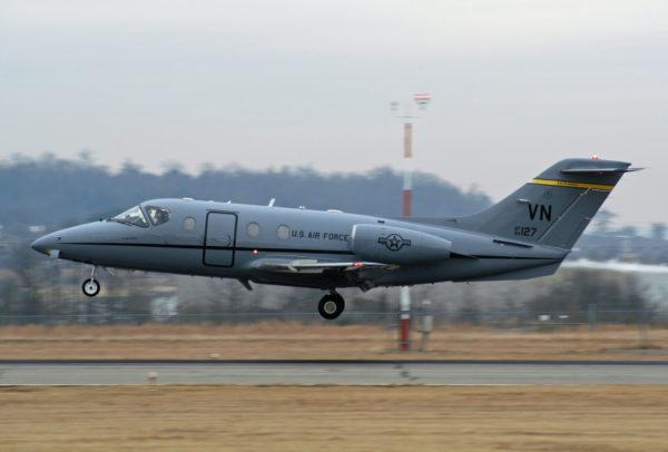 Beechcraft T-1A Jayhawk.