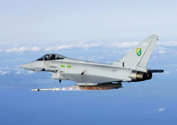Eurofighter Typhoon FGR Mk-4.
