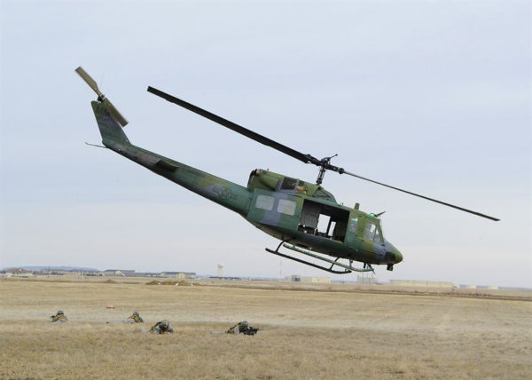 Bell UH-1N Twin Huey.