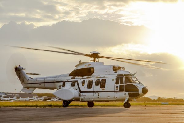Eurocopter VH-34A Super Puma.