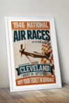 poster-retro-vintage-Cleveland-Air-Races-1946-mockup