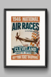 poster-retro-vintage-Cleveland-Air-Races-1946-mockup2