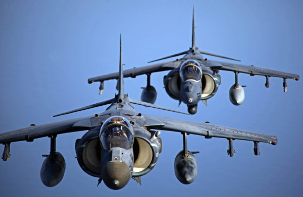 McDonnell Douglas AV-8B Harrier II.