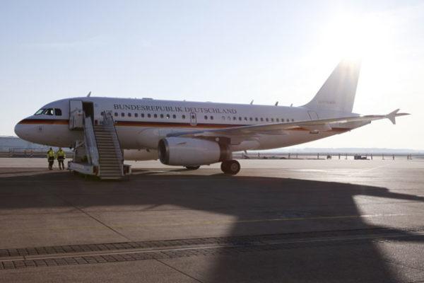 Airbus A319CJ.