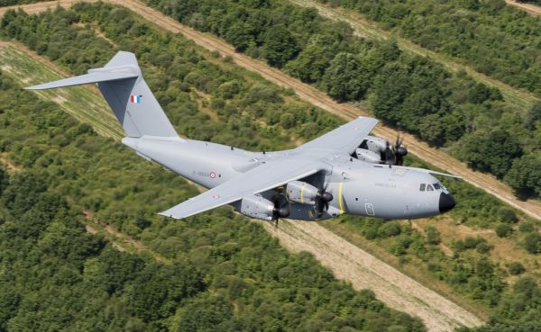 Airbus Defense & Space A400M Atlas.