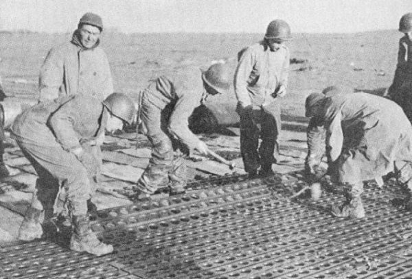 Alaska Marston Pierced Steel Planking-matting