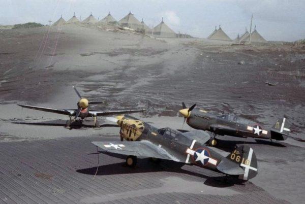 Alaska P-40 USAAF