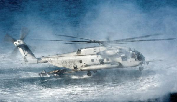 Sikorsky CH-53E Super Stallion.