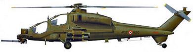 Profil couleur du Agusta A-129 Mangusta