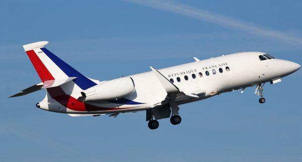 Dassault Falcon 2000LX.