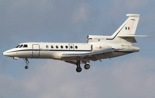 Dassault Falcon 50A.