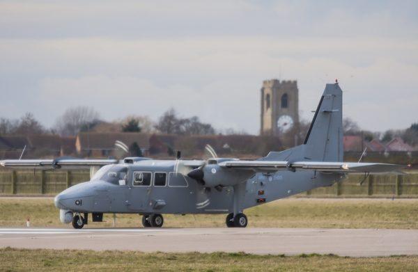Britten-Norman Defender AL Mk-2.