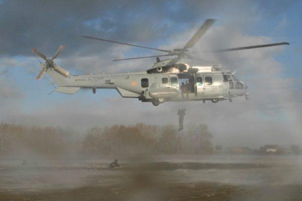 Eurocopter EC-725R Caracal.