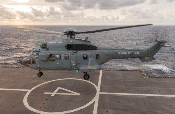 Eurocopter AS-332M Super Puma.