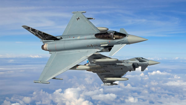 Eurofighter EF2000S.