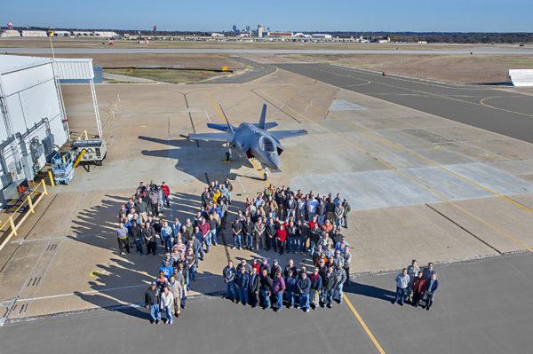 Le 45ème F-35 Lightning II.