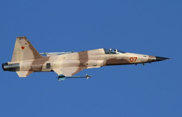 Northrop F-5N Tiger II.